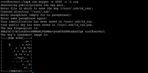 تنظیم کلیدهای ssh در لینوکس
