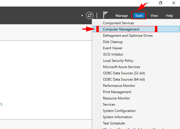آموزش مراحل تغییر حجم هارد سرور مجازی ویندوز سرور 2016