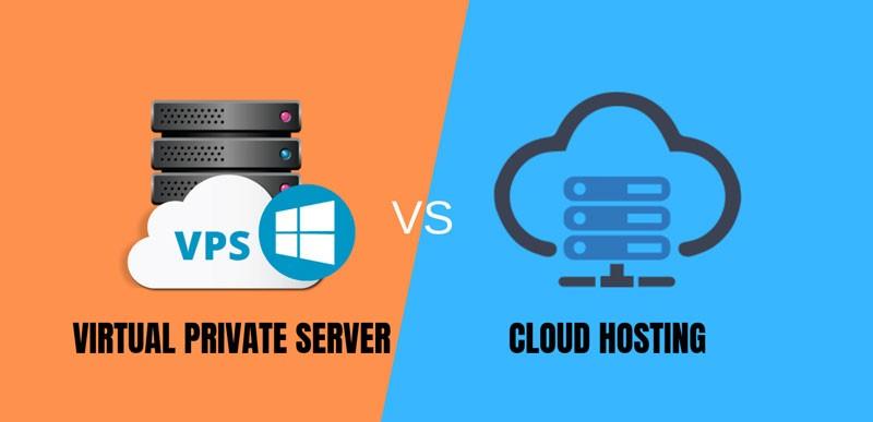 تفاوت vps و CloudServer